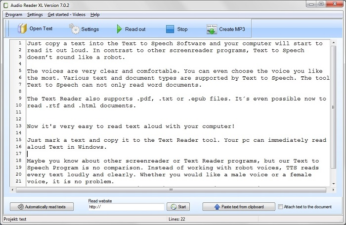 Text to Speech Software for Windows